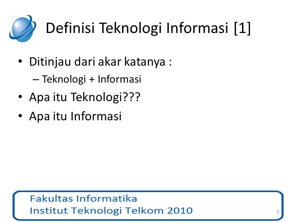 Definisi Teknologi Informasi [1]